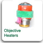 Objective heater