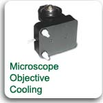 microscope objective cooling